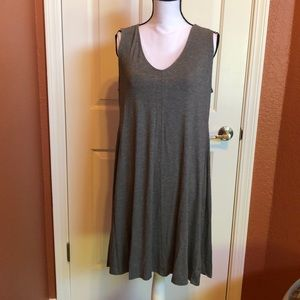 LARGE Flowy Heather Gray Dress - Style and Co.